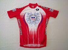 US Coast Guard Custom Cycling Jerseys - short sleeve - size SMALL through 6XL