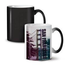 Puente de San Francisco nuevo cambio de color té café taza 11 Oz | wellcoda