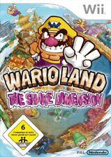 Nintendo Wii Spiel - Wario Land: The Shake Dimension (mit OVP)