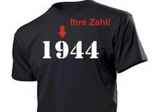 Camiseta con deiner Número Año Fun Camiseta Talla S-XXL - su Año