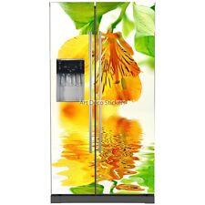 Stickers frigo américain Fleur 5746 5746