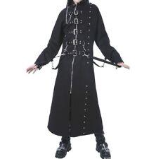 Men Dead Threads Hell raiser Jacket Gothic Long Coat Zip Studs Men Punk Coat