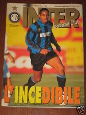 INTER FOOTBALL CLUB 1996/1 PAUL INCE NEVIO SCALA GANZ @