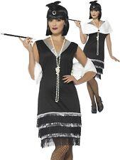 Ladies 1920s Flapper Costume Adults Charleston Fancy Dress Womens Gatsby Ne