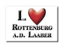 DEUTSCHLAND SOUVENIR - BAYERN MAGNET ROTTENBURG A.D. LAABER (LANDSHUT)