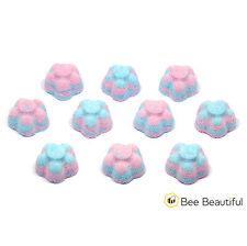 10 x Mini Flower bath bombs 10g - wedding favours - gifts