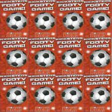 Revista de fútbol patada kicksters Jugador Caricatura 2013 Naipes-Varios