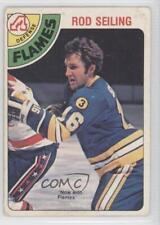 1978-79 O-Pee-Chee #394 Rod Seiling Calgary Flames Atlanta Hockey Card