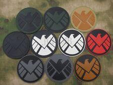 The Avengers S.H.I.E.L.D Tactical Military Morale 3D PVC Patch Badges