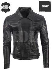 MDK Men's Real Leather Stylish Fashion Jacket (99QK)