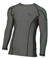 Herren Lycra Surf-Shirt Rash Guard Thermoshirt UV-Shirt UV-Schutz langarm