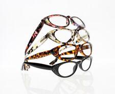 Designer 4 Colors Mini Cat Eye Rhinestones Reading Glasses +1.00 +1.25~+3.50