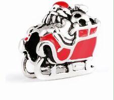 NUOVA Buon Natale Natalizia COLLEZIONE CIONDOLO Jolly Babbo per braccialetti con