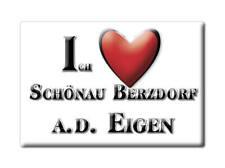 DEUTSCHLAND SOUVENIR - SACHSEN MAGNET SCHÖNAU BERZDORF A.D. EIGEN (GÖRLITZ)