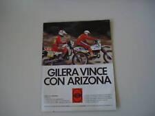 advertising Pubblicità 1985 GILERA ARIZONA RX
