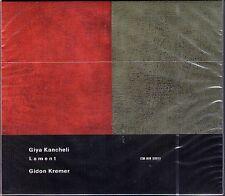 Giya KANCHELI: LAMENT Gidon KREMER Maacha DEUBNER Jansug KAKHIDZE CD ECM Neu OVP