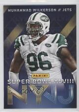 2014 Panini Super Bowl XLVIII New York Jets #6 Muhammad Wilkerson Football Card