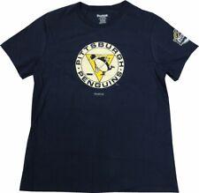 Pittsburgh Penguins Reebok Women's Winter Classic Logo Blue T-Shirt