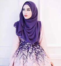 Lady New Long Headscarf Muslim Hijab Cap Islamic Wrap Shawl Women Fashion Hijab