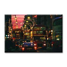 "cc art-CANVAS PRINT ARTWORK- LONDON NIGHT BUS - 24""x36"""