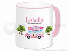Personalised Gift Ice Cream Van Mug Cone Scoop Driver Vendor Novelty Present #2