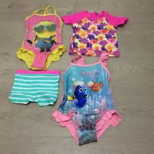 Assorted Girls Baby Toddler Kids Child Swimwear Rash Top Bathers Swimsuit Togs