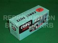 Corgi # 351 Land Rover Raf vehículo-cuadro de reproducción por drrb