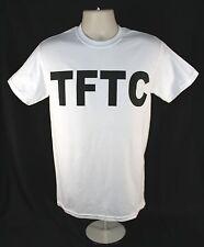 White Geocaching T-Shirt TFTC Black Letters Geocache Shirt Size M L XL 2XL 3XL