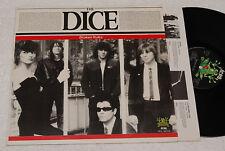 THE DICE:LP-PUNK ITALY PRESS 1981+INNER EX
