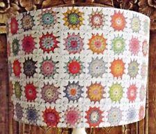 Crochet Blanket Lampshade,light shade, Retro ,Shabby Chic, vintage Free Gift