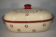 Brottopf 30 cm Rubin Oval , Steinzeug Westerwald