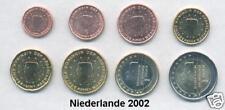 Paesi Bassi 2002 euro-Set di 1 cent - 2 € completamente unz. - Banca freschi, rarità!