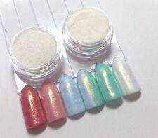 NailArt MERMAID EFFECT MEERJUNGFRAU Pigment Glitter 3ml Trend magic Glimmer