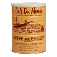 5 Can, Café Du Monde, Coffee and Chicory, Original French, Total 75oz