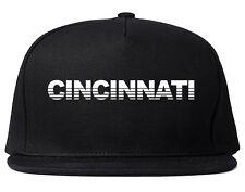 Cincinnati Ohip State City College Snapback Hat Baseball Cap