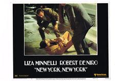 NEW YORK NEW YORK ROBERT DE NIRO ORIGINAL 11X14 LOBBY CARD