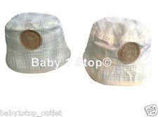 Bebé Niño Algodón Sol Sombrero Cuadros Diseño 0-6 O 6-12 meses colores a elegir