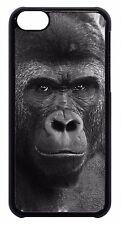 For Apple iPod 4 5 6 Cute Gorilla Monkey Wildlife Animal Print Back Case Cover