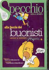 F5  SPECCHIO DELLA STAMPA N. 164 DEL 13 MARZO 1999 IN COPERTINA SIMPSON