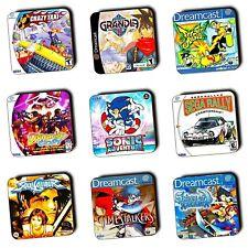 Sega Dreamcast Juegos-Caja Art-Posavasos-Juego de Madera-Compre 3 lleve 1 Gratis