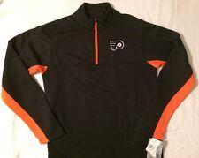 NHL Philadelphia Philly Flyers Men's Pullover Jacket Top Shirt - Sizes: S/M/L/XL