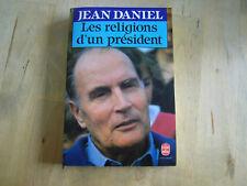 le livre de poche les religions d'un president - jean d