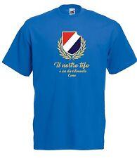 T-shirt Maglietta J1744 Il Nostro Tifo è Divertimento Como Ultras