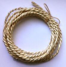 Organic Natural Handmade Twisted Braid Rustic Jute Burlap Rope Cord String Twine