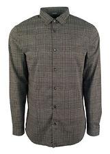 Michael Kor's Mens' Slim fit Square Print Long Sleeve Sport Shirt