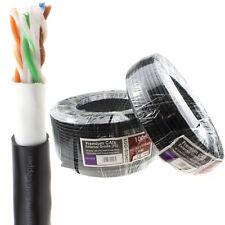Premium External CAT6 Outdoor COPPER Ethernet Network Cable Reel (Gel) 50M/100M