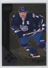 2011 Upper Deck Black Diamond Gold #208 Nicklas Lidstrom Detroit Red Wings Card