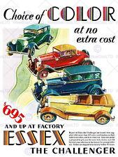 86462 ADVERT AUTOMOBILE CAR CHALLENGER ESSEX USA Decor WALL PRINT POSTER FR