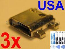 3x for Samsung Galaxy J7 SM-J727 Series Lot of USB Charging Port Micro Sync USA