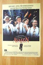 AFFICHE - AVALON BARRY LEVINSON